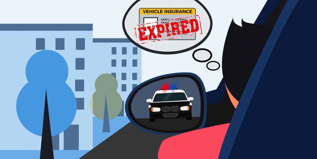 Expired auto insurance consequences