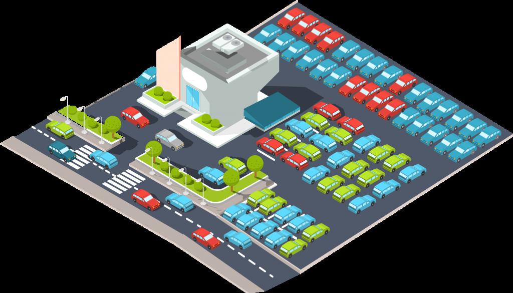 Car dealership buying insurance before car