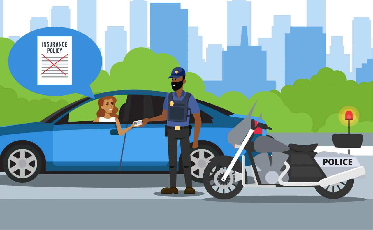 What happens if you get pulled over without insurance?