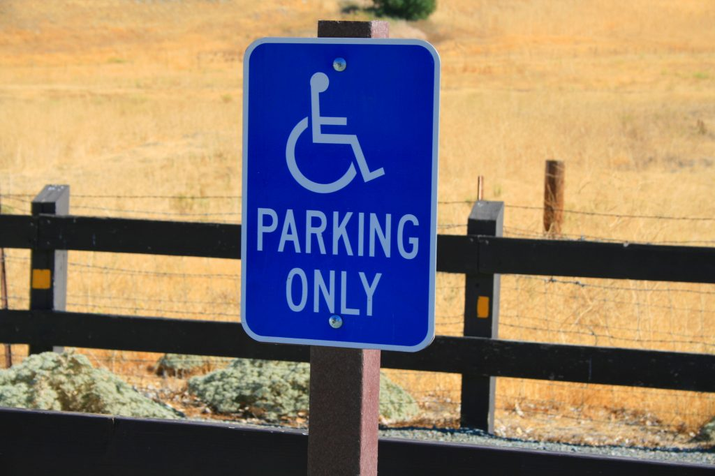 Parking for disabled drivers